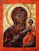 "Translation of the Icon of the Mother of God ""Vlaherensk"" to Russia"