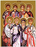 45 Holy Martyrs at Nicopolis in Armenia