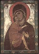 Icon of the Mother of God from Belozersk