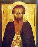 Venerable Dionysius the Abbot of Glushetsk, Vologda