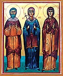 Glorification of the Venerable Susanna, the mother of St Nino Enlightener of Georgia