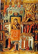 Meeting of the Vladimir Icon of the Mother of God in memory of the Saving of Moscow from the Invasion of Khan Achmed