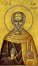 St Sampson the Hospitable of Constantinople