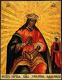 Icon of the Mother of God of Balikin