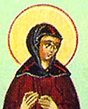 Virginmartyr Domnina of Syria