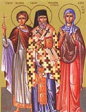 Hieromartyr Theodotus the Bishop of Cyrenia