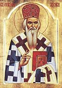 Repose of St Nicholas of Zhicha