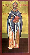St Felix of Burgundy the Bishop of Dunwich and Enlightener of East Anglia