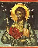 Martyr Candidus of the Holy 40 Martyrs of Sebaste