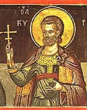 Martyr Cyrion (or Quirio) of the Holy 40 Martyrs of Sebaste