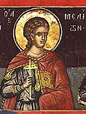 Martyr Meliton of the Holy 40 Martyrs of Sebaste