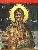 Martyr Sacerdon of the Holy 40 Martyrs of Sebaste