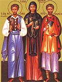 Martyr Anastasia the Patrician of Alexandria