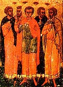 Martyr Publius (Pausis) at Caesarea, in Palestine