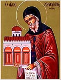 St Christodoulos of Patmos