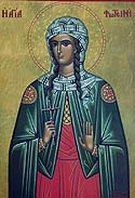 Martyr Photina (Svetlana), the Samaritan Woman, and Her Sons