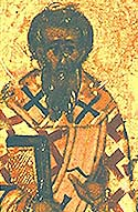 St Cyril the Bishop of Catania