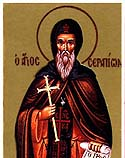 St Serapion, Bishop of Thmuis in Lower Egypt