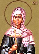 Martyr Callinica of Rome