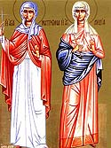 Martyr Matrona of Thessalonica