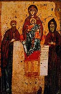 "Icon of the Mother of God ""Svenskaya"""