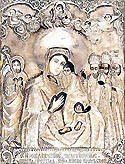 "Icon of the Mother of God ""Kievo-Bratsk"""