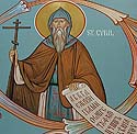 Equal of the Apostles and Teacher of the Slavs, Cyril