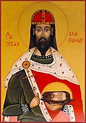 St John-Vladimir the Prince of Bulgaria, the Greatmartyr and Miracle-worker