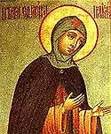 Venerable Euphrosyne the Abbess of Polotsk