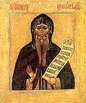 Venerable Nikita the Stylite, Wonderworker of Pereyaslavl, Zalesski