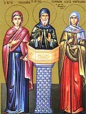 Martyr Susanna who suffered in Galatia