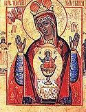 Icon of the Mother of God of Nicea