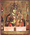 "Icon of the Mother of God ""the Consoler of Angry Hearts"""