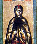 Virginmartyr Theodosia of Tyre