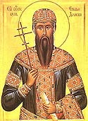 Repose of St Stephen of Dechani, Serbia