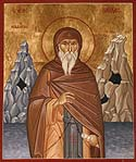 Venerable Nilus the Myrrhgusher of Mt Athos
