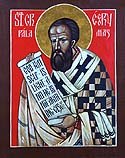 St Gregory Palamas the Archbishop of Thessalonica
