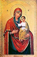 Icon of the Mother of God of Gerbovets