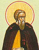 St John the Chozebite the Bishop of Caesarea, in Palestine