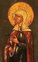 Martyr Charitina of Amisus