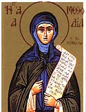St Methodia the Righteous of Kimolos