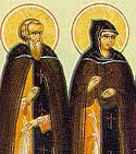 Venerable Athanasia of Egypt with her Husband
