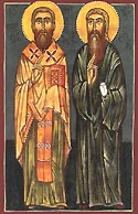 St Jacob the Elder, and disciple of St Anthony of Chqondidi
