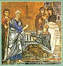 St Tabitha the Widow, raised from the dead by the Apostle Peter