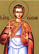 Martyr Sozon of Cilicia