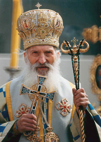 <p>Metropolitan Jonah offered prayers for Patriarch Pavle&#8217;s repose at the Divine Liturgy on Sunday morning</p>