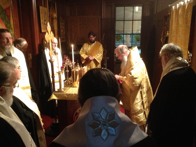 Liturgy for St Tikhon