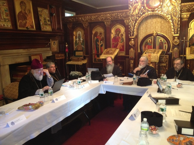 Holy Synod Meeting