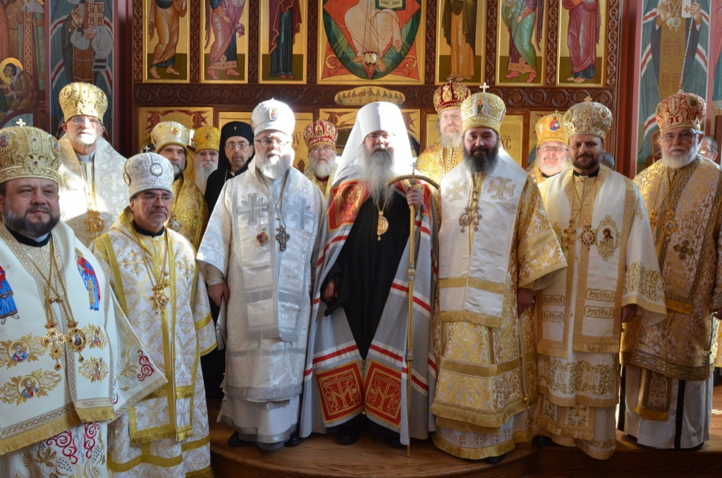 Enthronement Metropolitan Tikhon