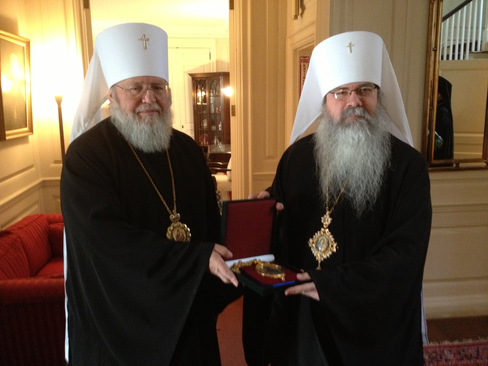Metropolitans Hilarion and Tikhon